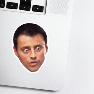 Joey Tribbiani Celebrity Head Sticker - Friends