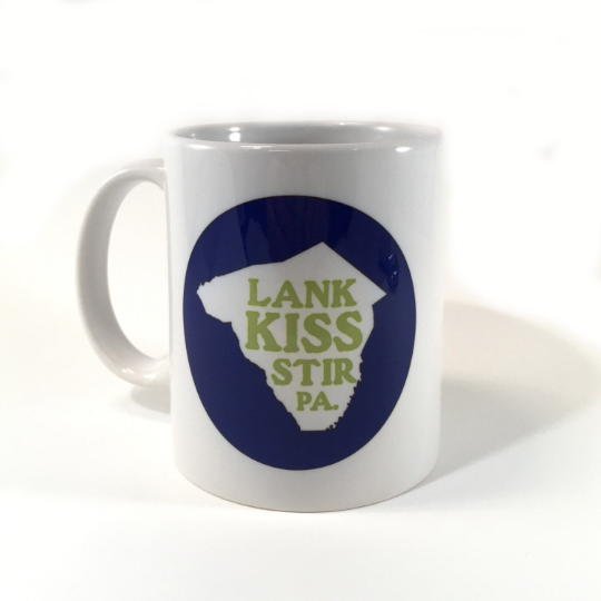 Lank Kiss Stir Coffee Mug - Lancaster Pennsylvania