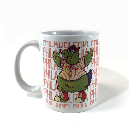 Phillie Phanatic Coffee Mug - Philadelphia Phillies
