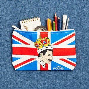 Freddie Mercury Canvas Pouch by The Found