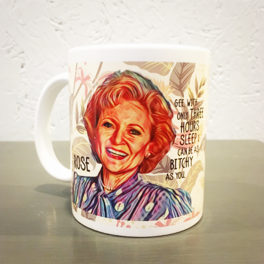 Golden Girls Coffee Mug Rose - Rose