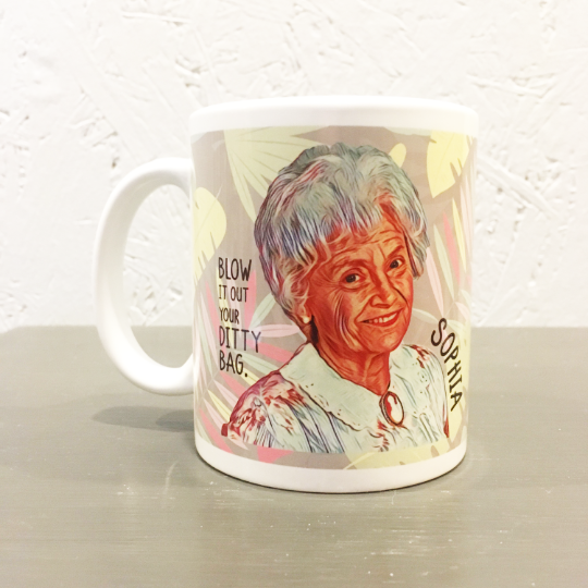 Golden Girls Coffee Mug - Sophia