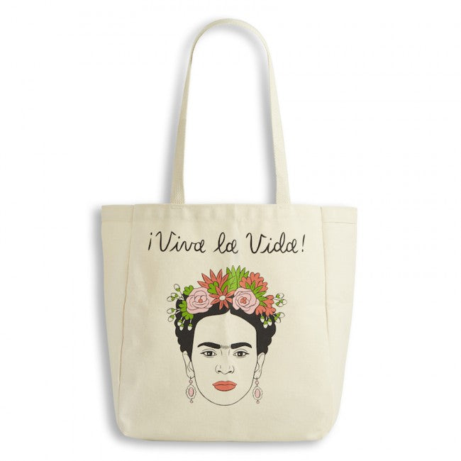 Frida Kahlo Canvas Tote Bag by The Found