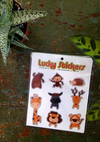 Zoo Friends - Lucky Stickers
