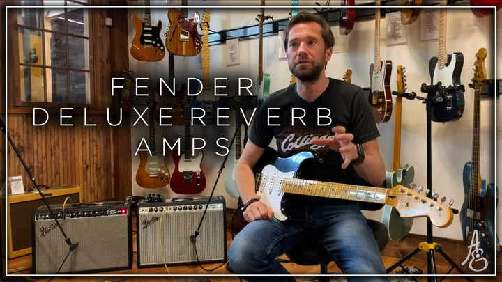 Fender Deluxe Reverb Amps Showdown