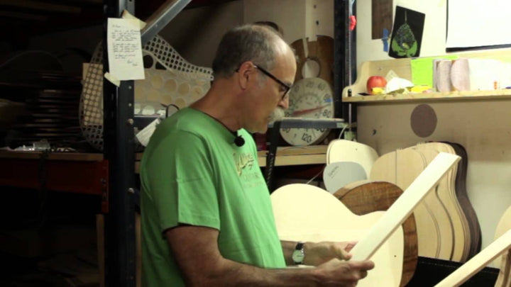Inside Collings Guitars: Acoustic Top Woods