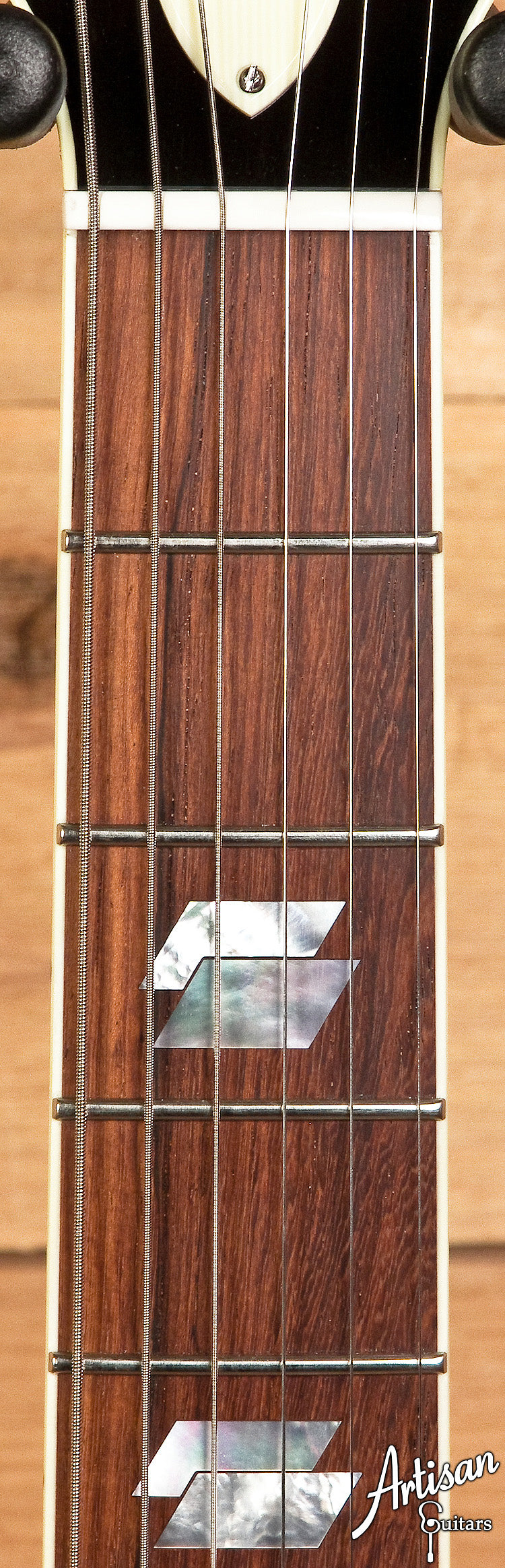 Collings I-35 Deluxe Custom Quilt Top with Caramel Finish ID-5994
