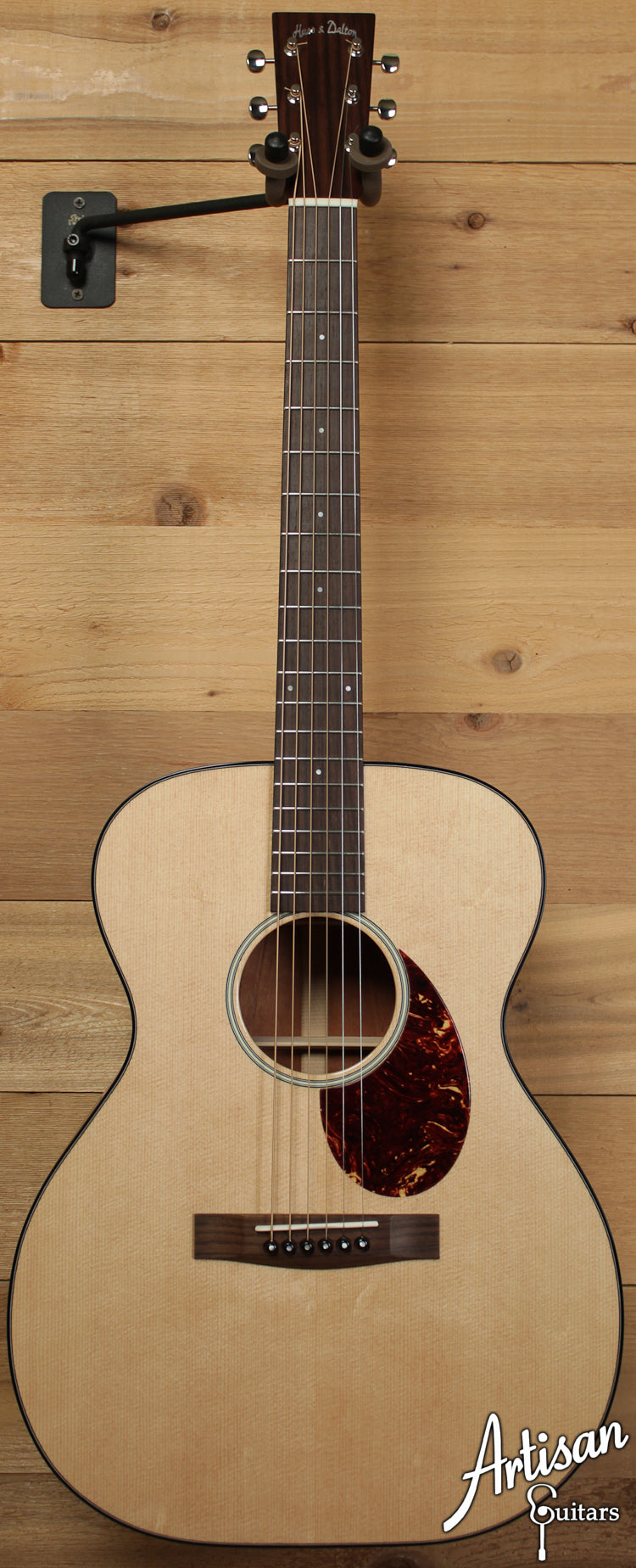 Huss and Dalton Road Edition OM Sitka Spruce and Mahogany ID-6525 - Artisan Guitars