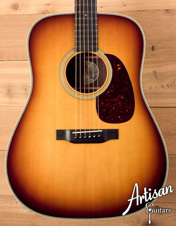 Pre Owned Collings D2HSb Sitka Spruce and Indian Rosewood with Sunburst Top ID-6718 - Artisan Guitars