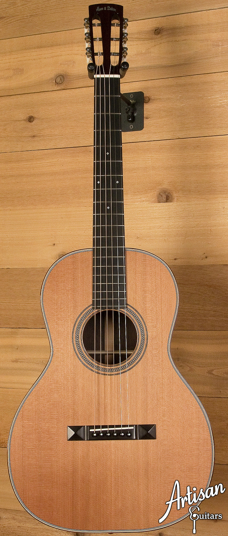 2004 Huss and Dalton 00SP Custom Cedar and Indian Rosewood ID-6109 - Artisan Guitars