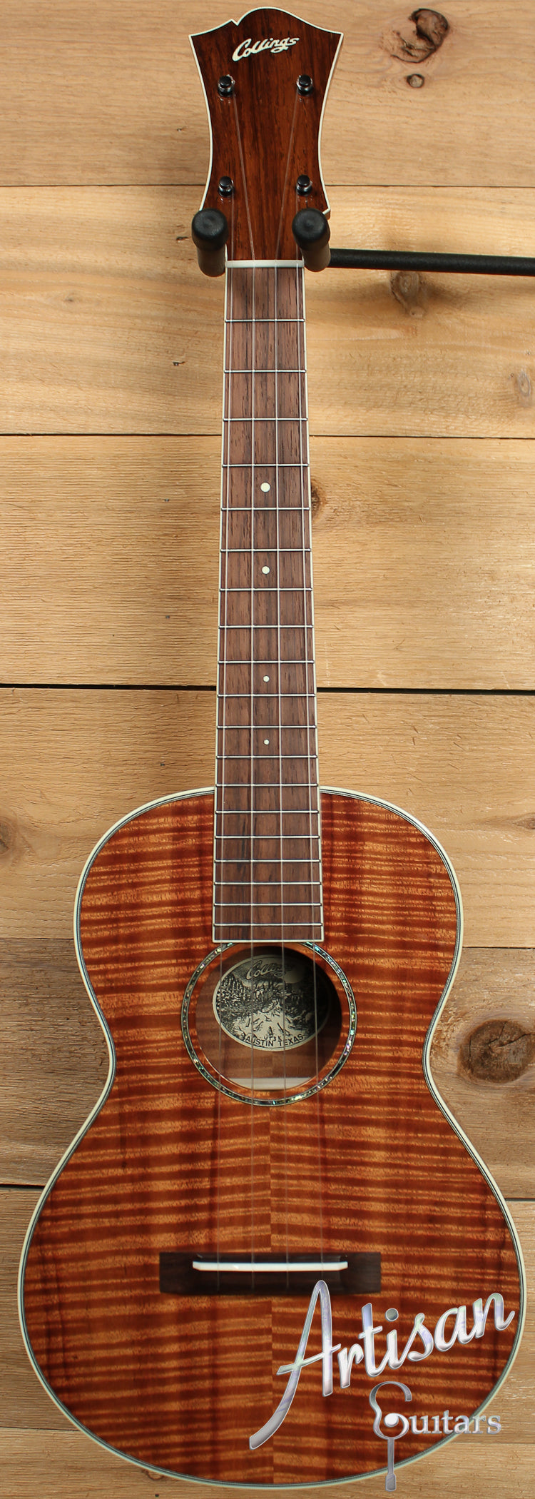 Collings UT3 K Koa Tenor Ukulele ID-7635 - Artisan Guitars