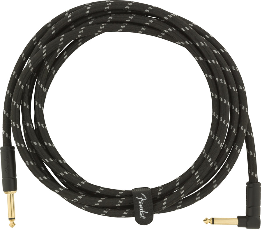Fender Deluxe Series Instrument Cable, Tweed, 10' Feet
