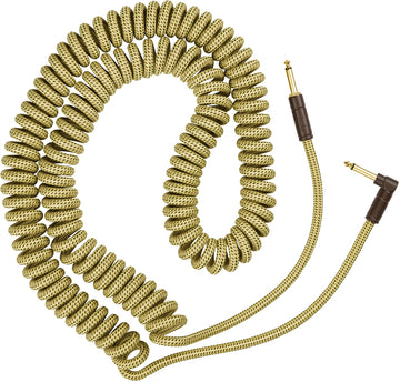 Fender Deluxe Series Coil Cable, Tweed, 30' Feet