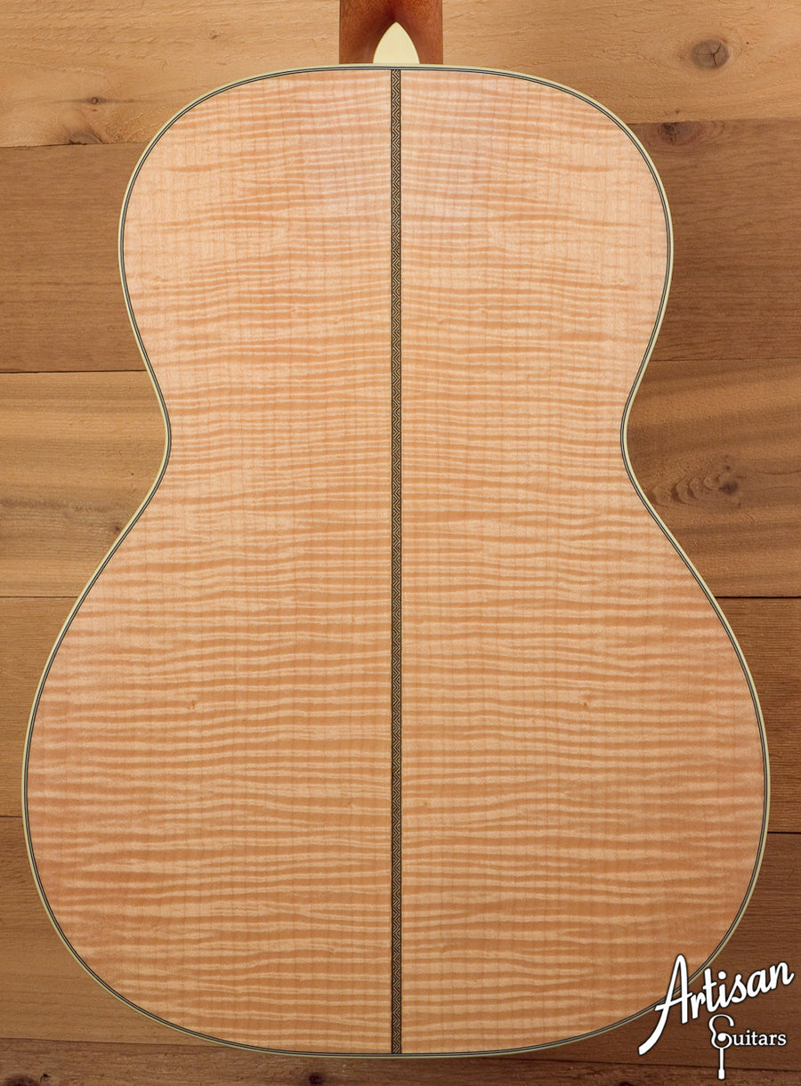 2004 Bourgeois OMS Custom European Maple and Adirondack Spruce ID-5348 - Artisan Guitars