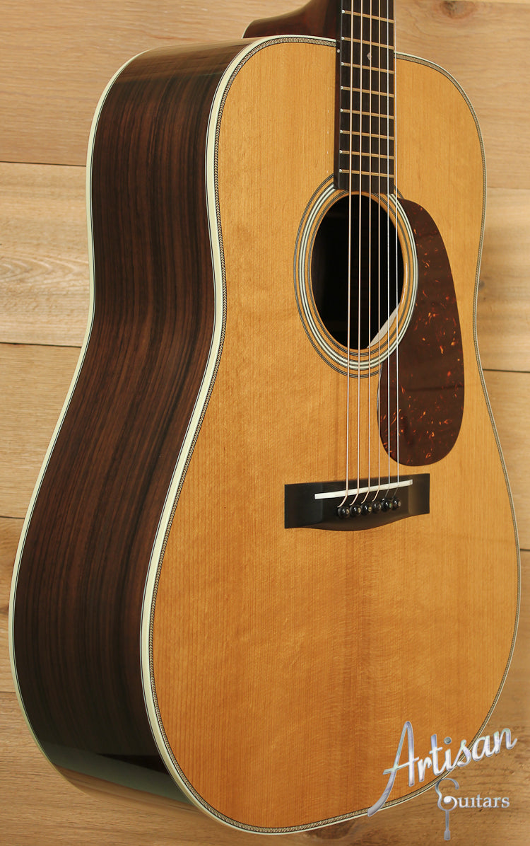 Huss and Dalton TD R Thermo-Cured Appalachian Red Spruce and East Indian Rosewood with Hot Hide Glue ID-7701