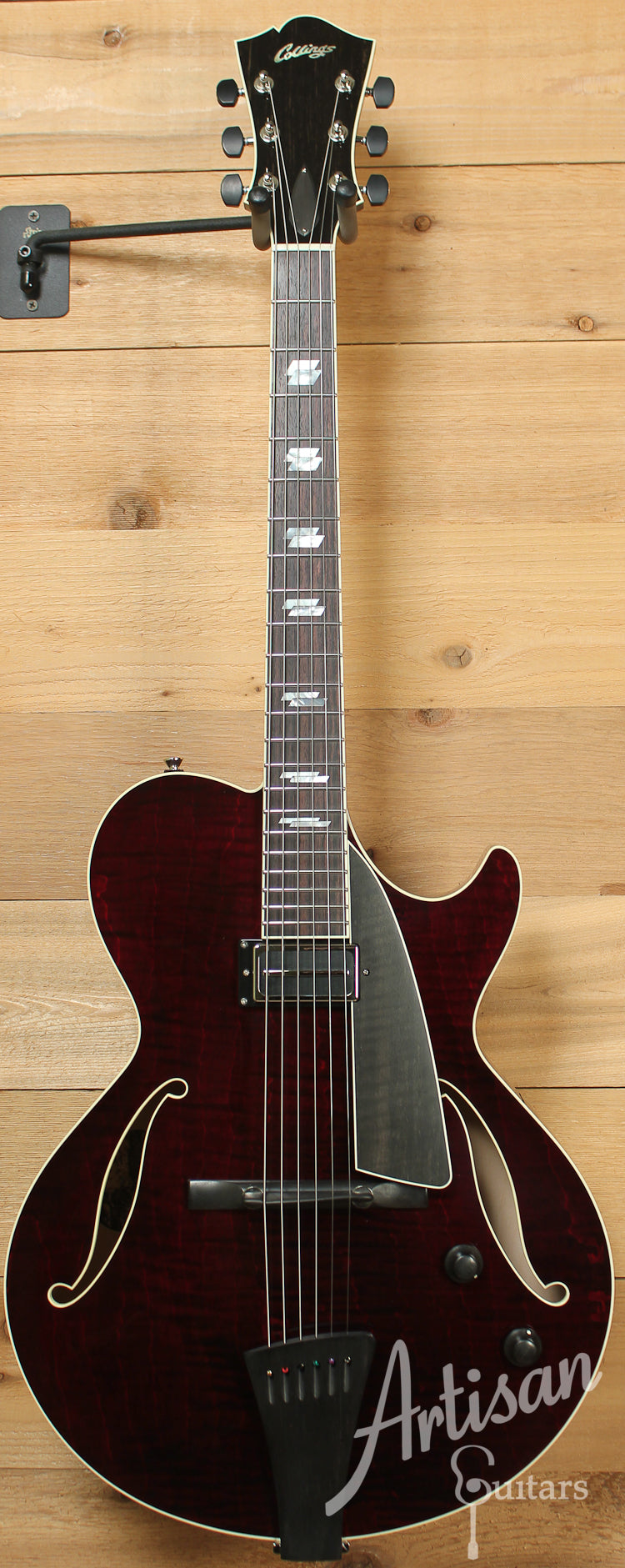 Collings Eastside LC Deluxe with Merlot Finish and Charlie Christian Pickup ID-7969