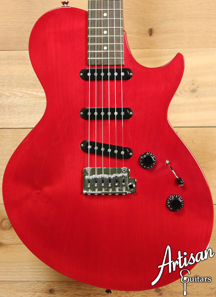 Collings 360ST Alder Electric Guitar Crimson with Lollar Blackface Pickups ID-7142 - Artisan Guitars