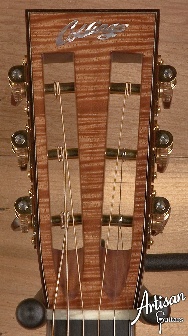 Collings Custom 003KG German Spruce and Flamed Koa Style 41 Top Purfle ID-5620