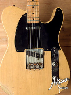 1951 Fender Nocaster Blackguard All Original - Pre-Telecaster!  ID-5925 - Artisan Guitars