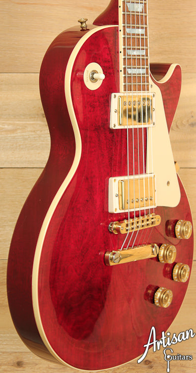 1998 Gibson Les Paul Standard Wine Red ID-6870 - Artisan Guitars