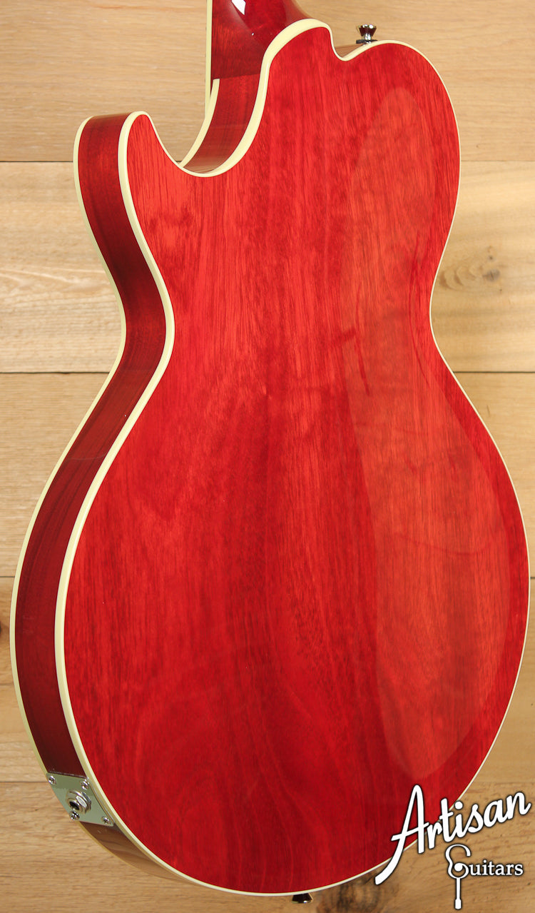 Collings SoCo Deluxe Custom Quilted Maple with Scarlet Sunburst ID-7067 - Artisan Guitars