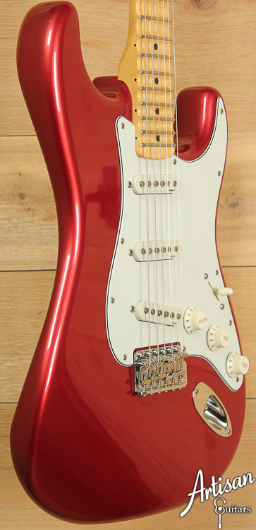 2001 Fender YJM Yngwie Malmsteen Stratocaster Candy Apple Red ID-6908 - Artisan Guitars