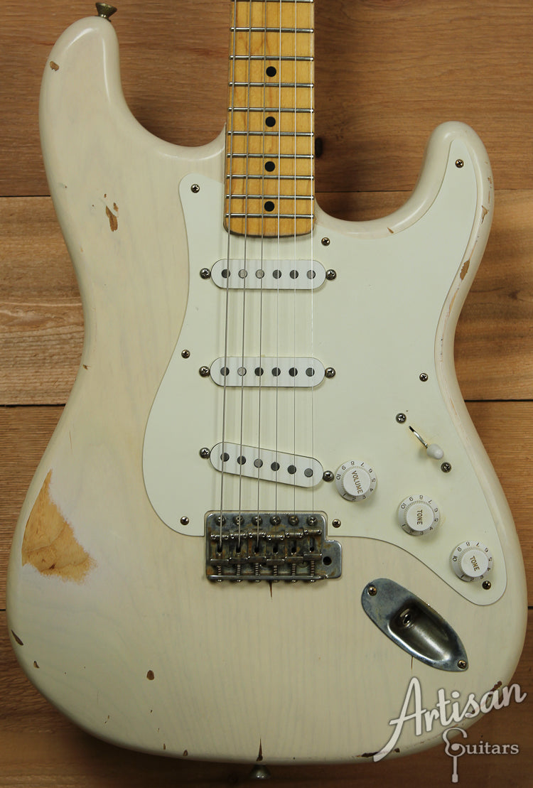 2013 Bill Nash S 57 Medium Relic Mary Kay Blonde Stratocaster ID-7416
