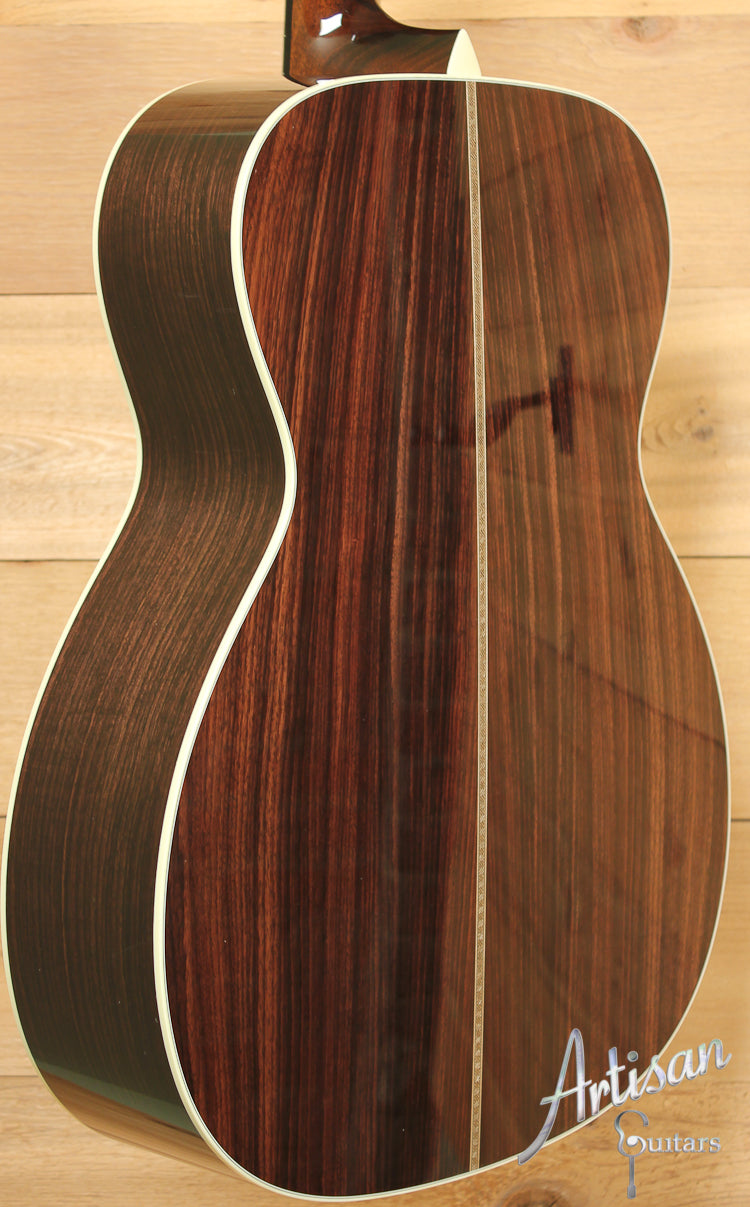 Collings OM2 E SS Engelmann Spruce and Indian Rosewood Short Scale ID-7657 - Artisan Guitars
