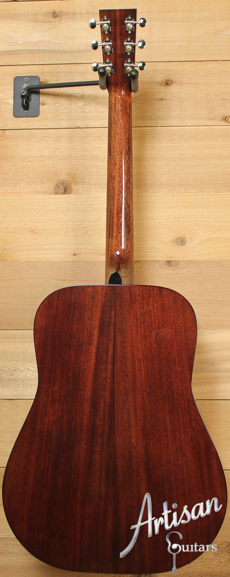 Huss and Dalton TD M Thermo-Cured Appalachian Red Spruce and Sinker Mahogany with Hot Hide Glue ID-7672 - Artisan Guitars