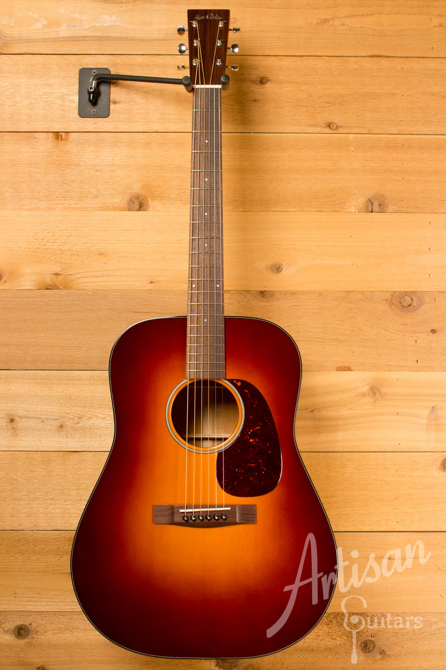 Huss and Dalton Road Edition Dreadnought - Sitka Spruce and Mahogany with Sunburst ID-10650 - Artisan Guitars
