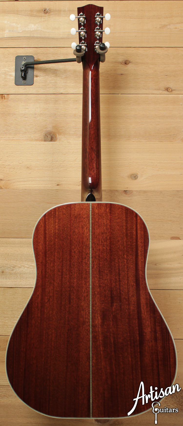 Huss and Dalton DS Custom Red Spruce and Mahogany Short Scale ID-6491