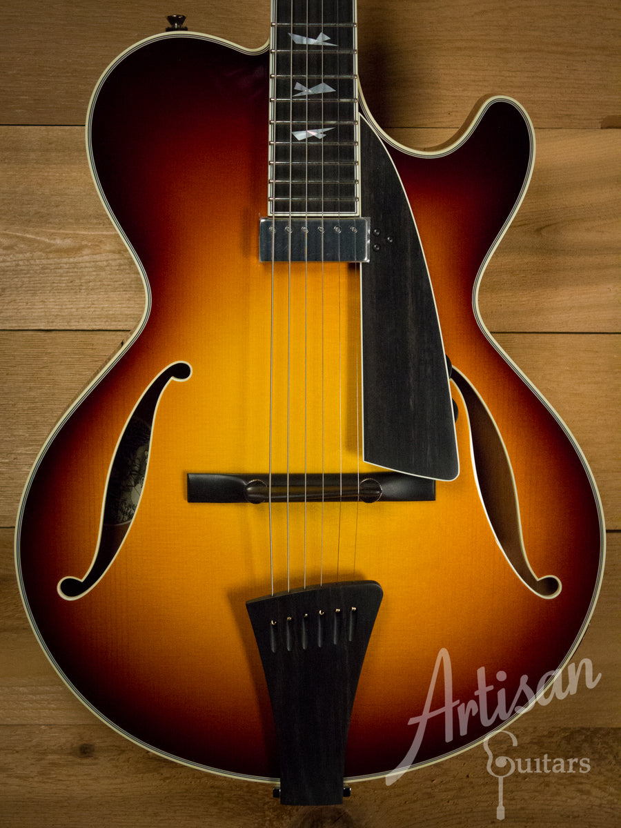 Collings City Limits Jazz Guitar Thinline Archtop Tobacco Sunburst Lollar Johnny Smith-Style Pickup  ID-10314