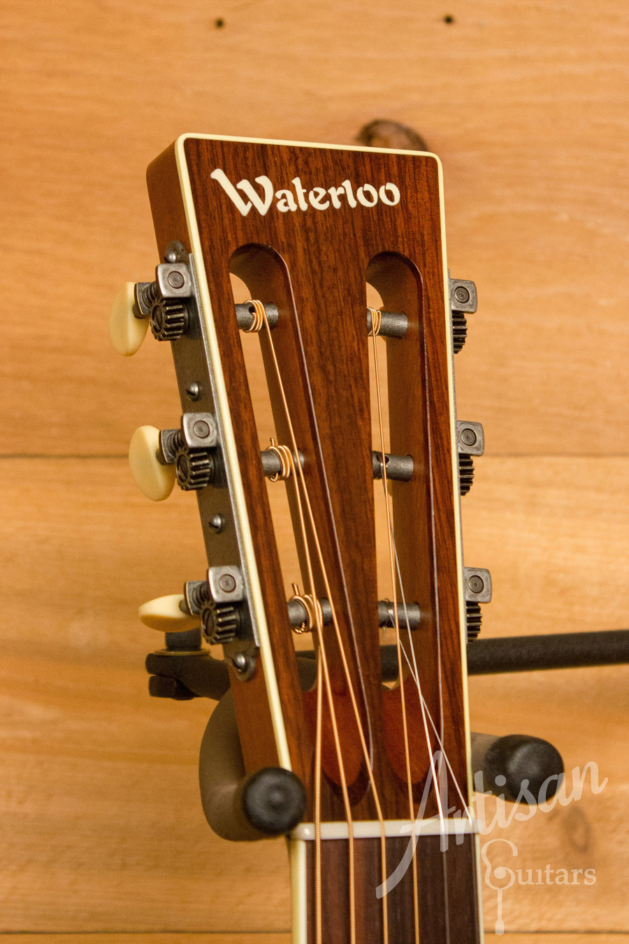 Waterloo WL-S DLX Ladder Braced Guitar Solid Spruce and Cherry ID-10956