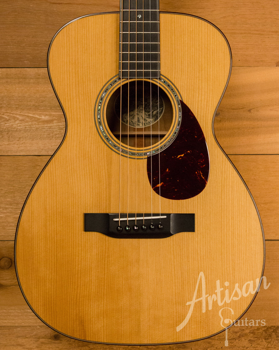 Collings 03 Maple A with Torrefied Adirondack and Flame Maple Pre-Owned 2014 ID-11283 - Artisan Guitars