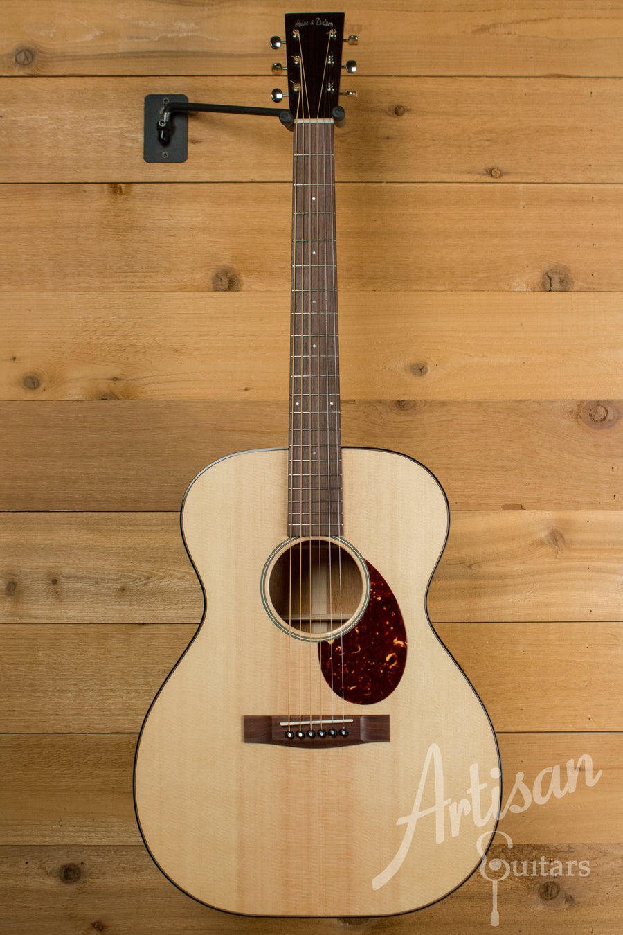 Huss and Dalton Road Edition OM Sitka Spruce and Mahogany ID-10646 - Artisan Guitars