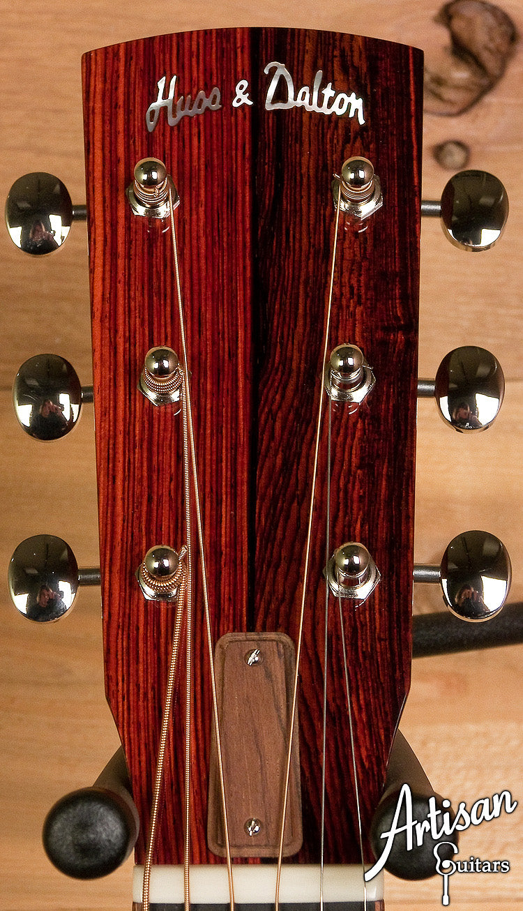 Pre-Owned 2012 Huss and Dalton Custom 00 Engelmann and Cocobolo  ID-6099 - Artisan Guitars