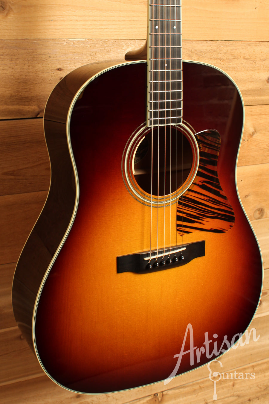 Collings CJ Guitar SS with Sunburst German Spruce top and Mahogany back and sides Pre-Owned 2014 ID-10676 - Artisan Guitars
