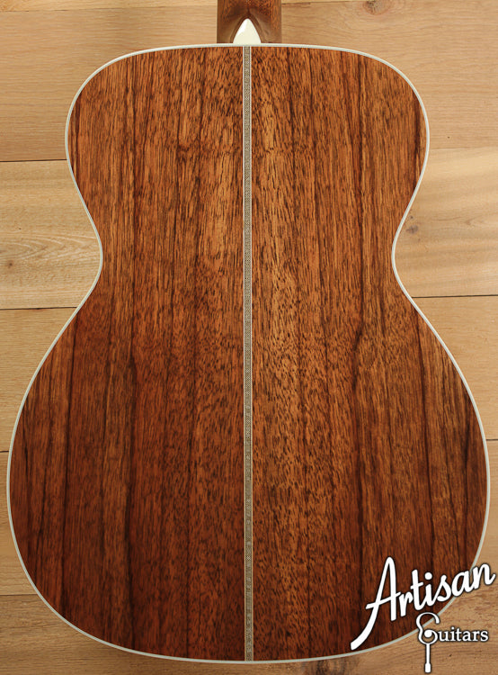 Collings OM2H A SR Adirondack Spruce and Sacha Rosewood  ID-6705 - Artisan Guitars