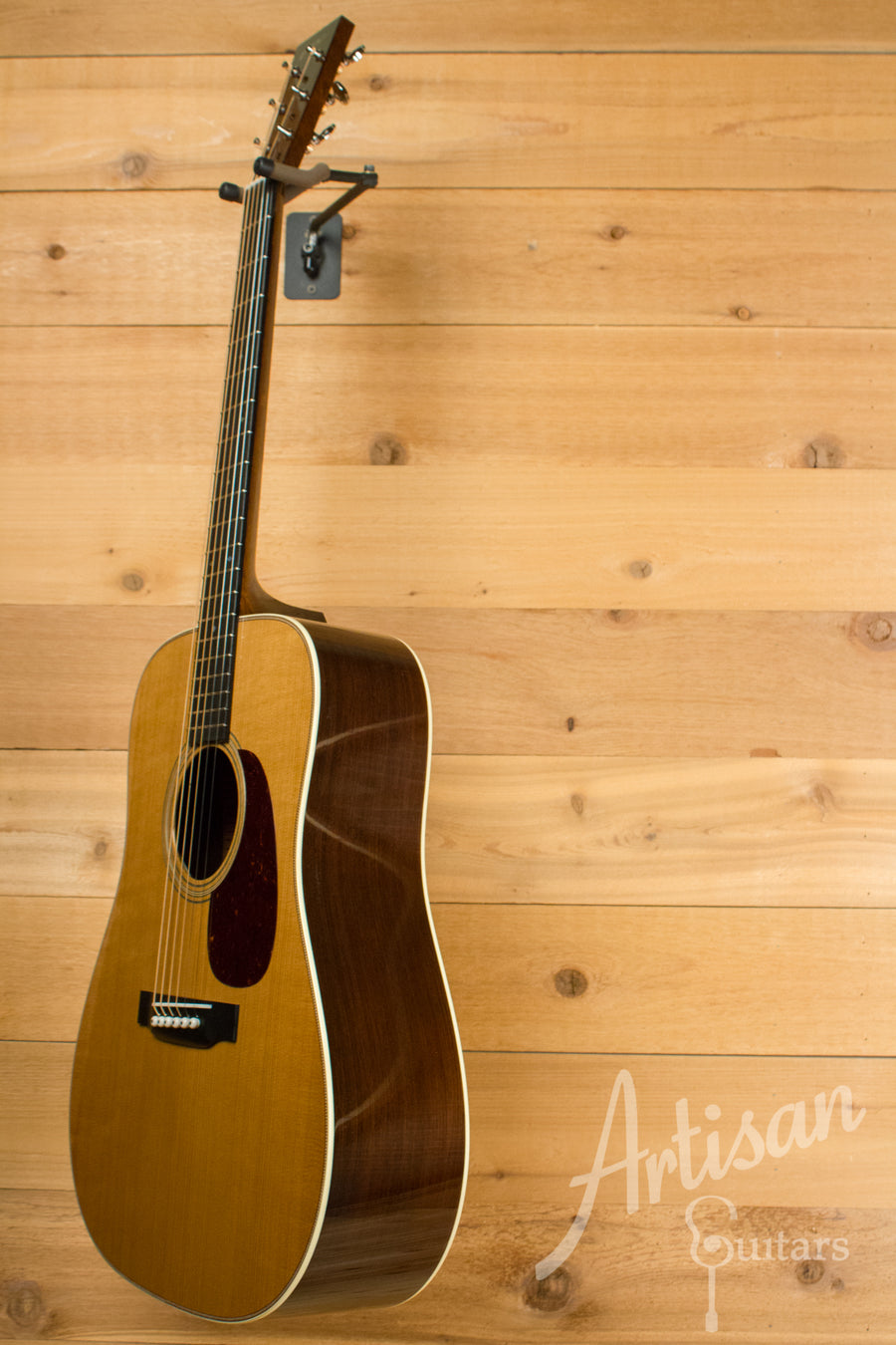 Collings D2H T Baked Adirondack and Madagascar Rosewood ID-10595 - Artisan Guitars