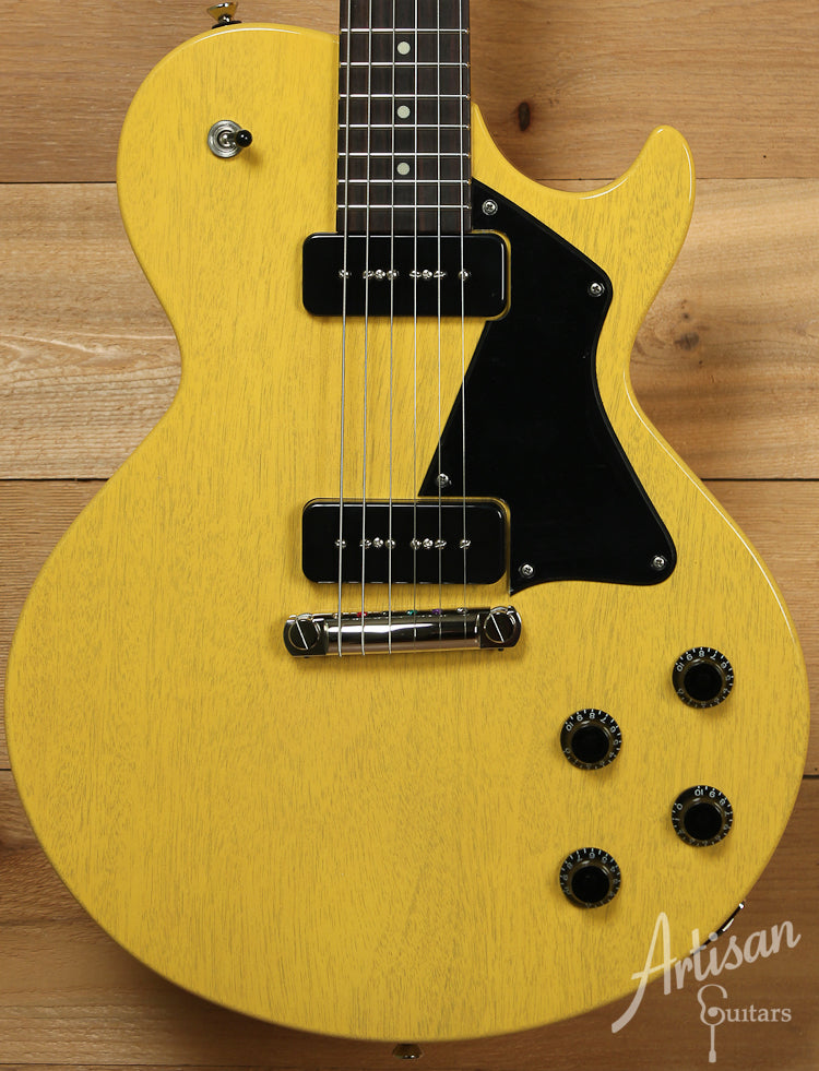 Collings 290TV Yellow with Dual Lollar P90 Pickups and Wraparound Bridge ID-7676