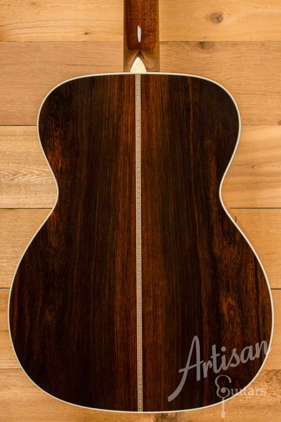 Collings OM2H MR Baked Sitka Spruce and Madagascar Rosewood No Tongue Brace Pre-Owned 2016 ID-10739