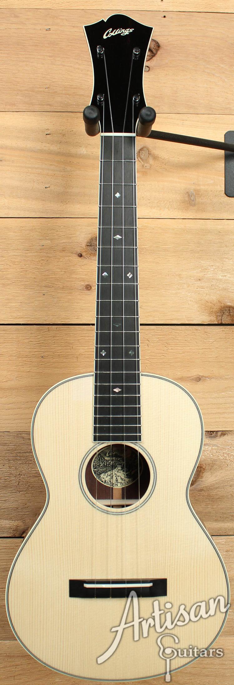 Collings UT2 Adirondack Spruce and Indian Rosewood ID-7633 - Artisan Guitars