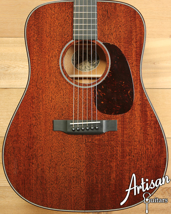 Collings D1H Mahogany Herringbone ID-6815 - Artisan Guitars