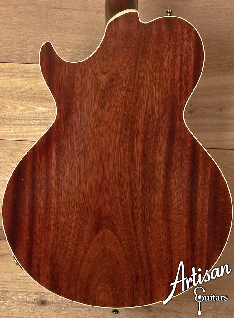 Collings SoCo Deluxe Custom Quilt Top and Tiger Eye Sunburst ID-5833