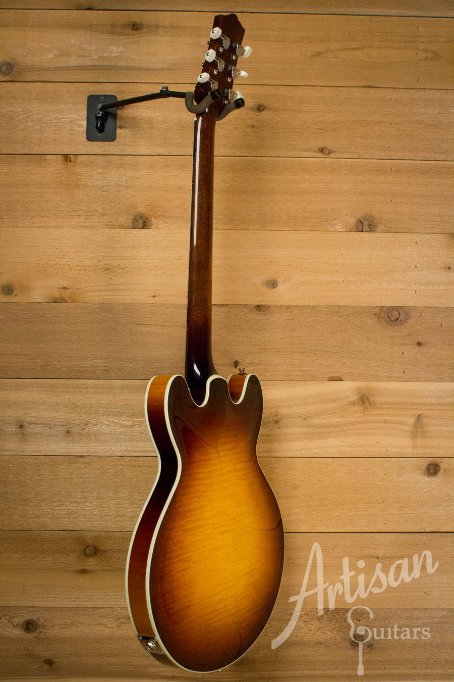 Collings I 35 LC Guitar Laminate Construction full body sunburst with ThroBak Pickups  ID-10166