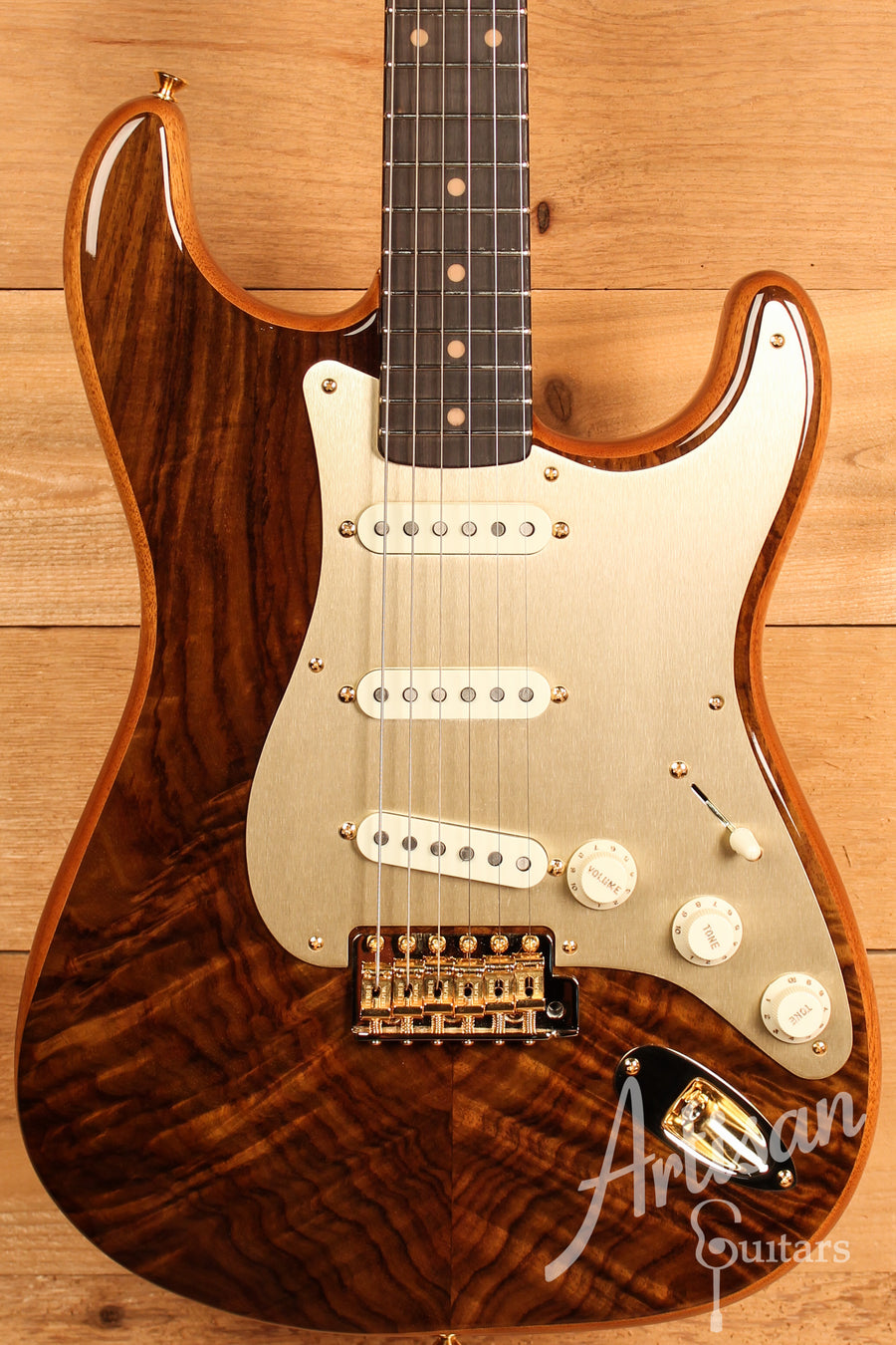 Fender Custom Shop Artisan Collection Stratocaster Figured Rosewood ID-11157