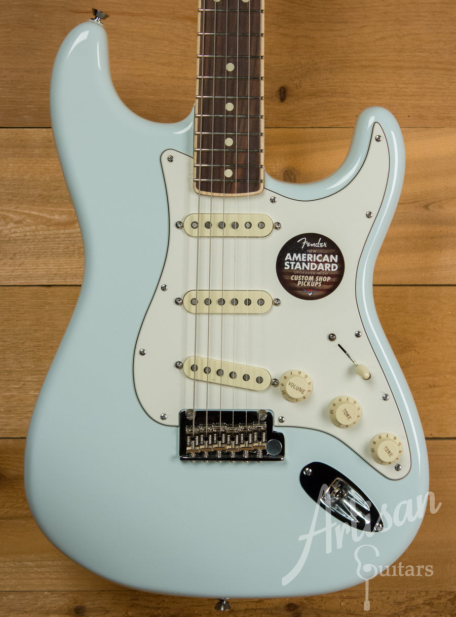 Fender Limited Edition American Standard Stratocaster Channel Bound Pre-Owned 2014 ID-11099 - Artisan Guitars