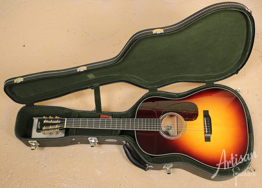 Collings DS2H Adirondack and Figured Mahogany with Sunburst ID-7744