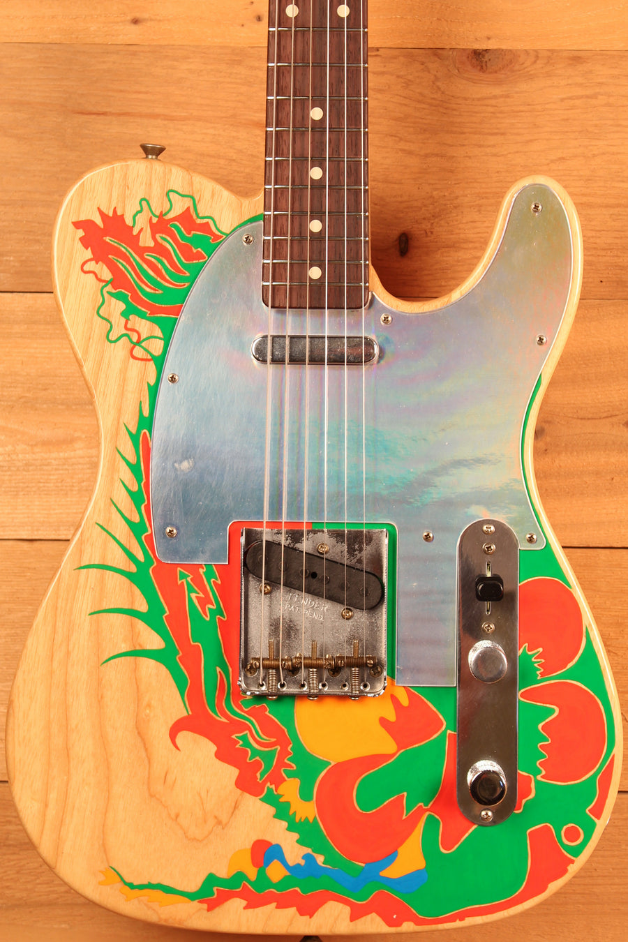 Fender Custom Shop Jimmy Page Dragon Telecaster, Masterbuilt by Paul Waller ID-13260 - Artisan Guitars