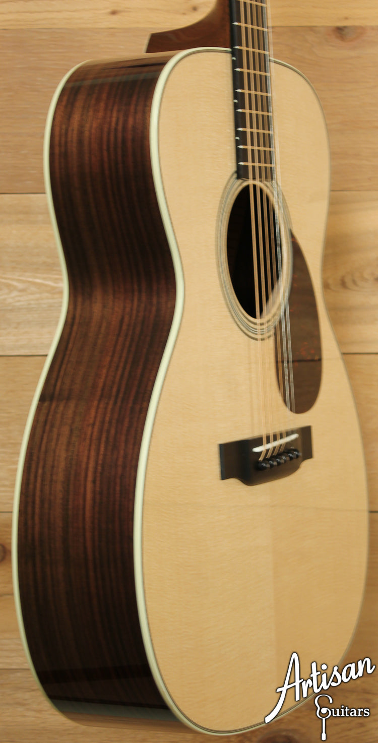 Collings OM2 SS Sitka Spruce and Indian Rosewood Short Scale ID-7060 - Artisan Guitars